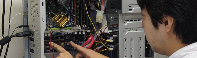 パソコンのサポート・修理